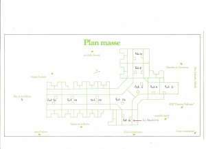 Plan masse du Vallona